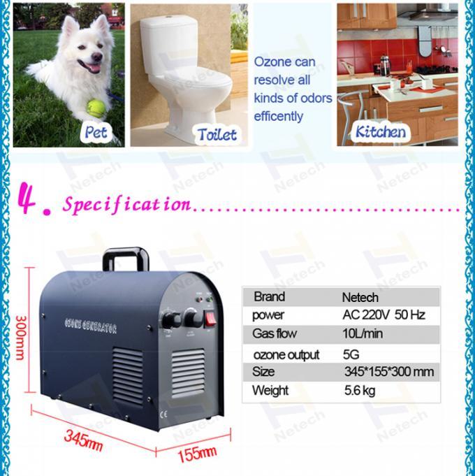Car portable air purifier Hotel Ozone Machine / air cooling