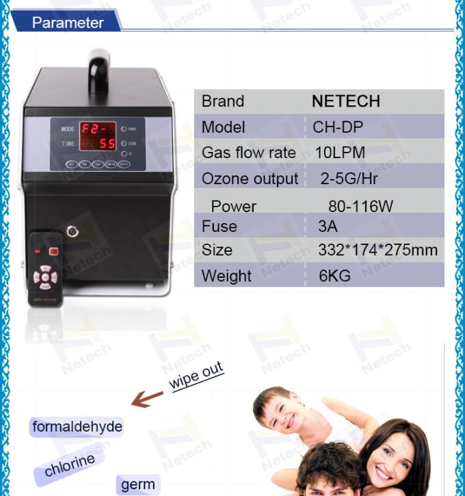 Air purifier hotel ozone machine 5g for room cleaning and