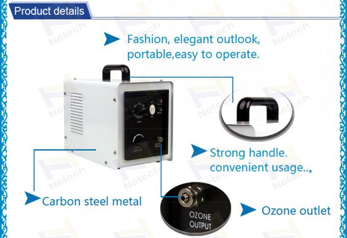 White Home Use Household Ozone Generator Ceramic Tube For clean
