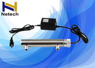 China UV Pond Sterilizer / 9 Watt UV Sterilizer Aquarium For Water Purifier company