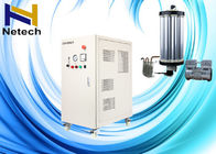 China Aquacuture Oxygen Generator , 10LPM Industrial Oxygen Concentrator With Oil - Free Air Compressor factory