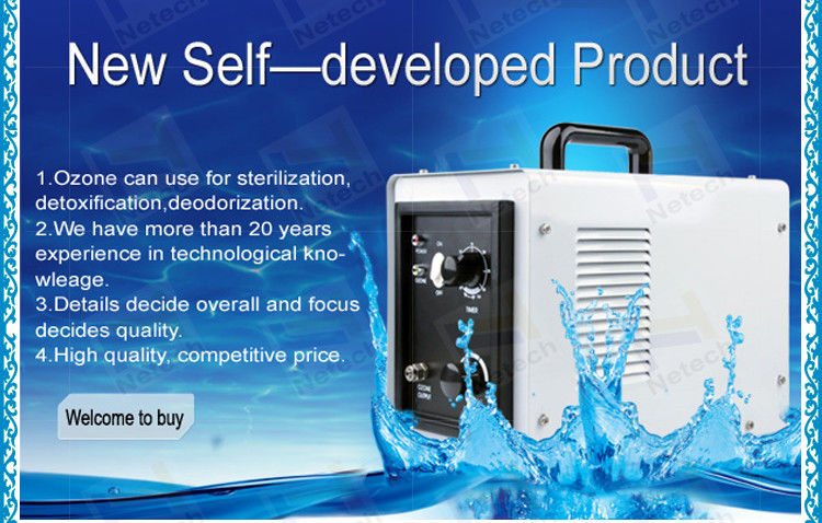3g / Hr Portable Ozone Generator Ozone cleanr For Air Water