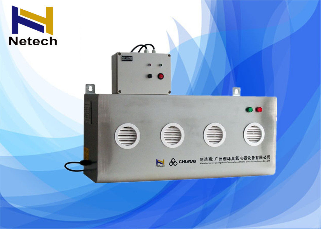 Laboratory Hotel Commercial Ozone Generator , Wall Mounted Ozone Air Purifier