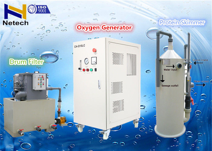 1060W 20LPM Oxygen Generator For RAS System With Door Lock , Amp
