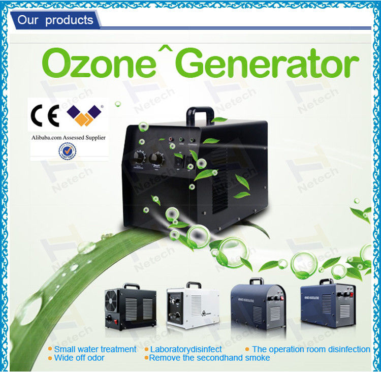 China Electrical Swimming Pool Small Ozone Generator For Water Sterilizer Supplier