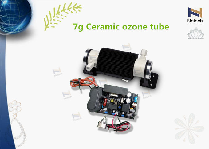 Ceramic Double Air Cooling Ozone Generator Components  Ceramic Ozone Tube